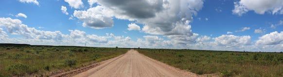 Sand-Straße durch das Barrons lizenzfreies stockfoto