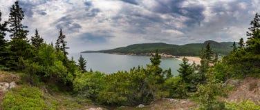 Sand-Strand - Acadia-Nationalpark Lizenzfreies Stockfoto