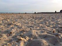 Sand, Strandboden Stockbild