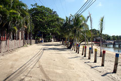 Sand street Stock Photo
