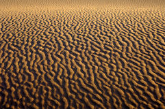 Sand structures in the Sahara Royalty Free Stock Images