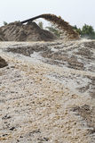 sand suction dredging Royalty Free Stock Photography