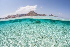 Sand, Sun, and Island Stock Image