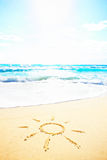 Sand Sun Royalty Free Stock Images