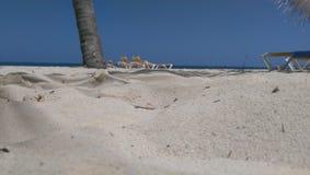 Sand and sun. White sand beach Royalty Free Stock Photo