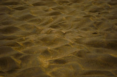 Sand and sunset. Royalty Free Stock Images