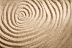 Sand Swirl Background. A circular sand swirl background texture abstract Stock Image