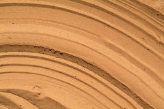Sand texture. Background made pf a close up sand texture Royalty Free Stock Images