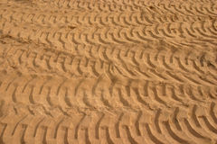 Sand texture. Mass of granulated sand as a textured background Stock Image
