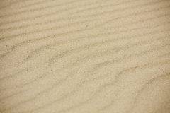Sand texture. With a warm color Stock Images
