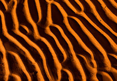 Sand Texture. Sand Pattern Texture in the Desert royalty free stock photo