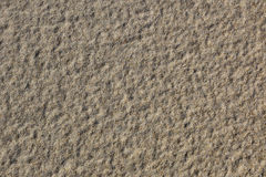 Sand texture for background. Close up. Top view. Royalty Free Stock Photos