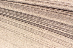 Sand texture background. With graphical outline Royalty Free Stock Photography
