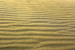 Sand texture. At the  beach with copy space horizontaly Royalty Free Stock Photos