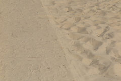 Sand Texture. Brown sand. Background from fine sand. Sand background Royalty Free Stock Image