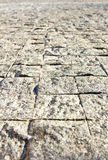Sand texture floor tile Stock Images