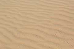 Sand texture at Phan Thiet, Vietnam Royalty Free Stock Photography