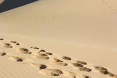 Sand texture at Phan Thiet, Vietnam Stock Photo
