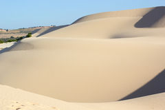 Sand texture at Phan Thiet, Vietnam Royalty Free Stock Images