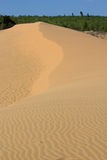 Sand texture at Phan Thiet, Vietnam Royalty Free Stock Photos