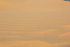 Sand texture at Phan Thiet, Vietnam Stock Photography