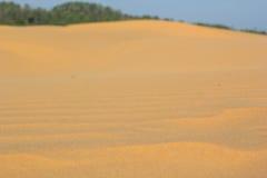 Sand texture at Phan Thiet, Vietnam Stock Image