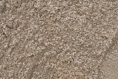 Sand texture from sand pile Stock Photos