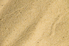 Sand texture. Sandy beach for background Stock Photo