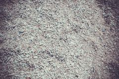Sand texture. Sandy beach for background. Top view Stock Photos