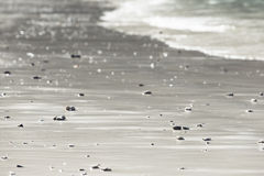 Sand texture  with shadows Royalty Free Stock Photography
