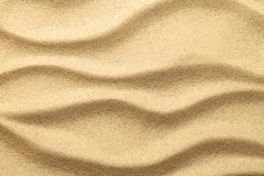 Sand Texture for Summer Background Stock Image