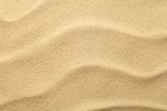 Sand Texture for Summer Background Stock Photo
