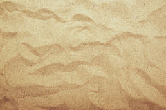 Sand texture top view Royalty Free Stock Image