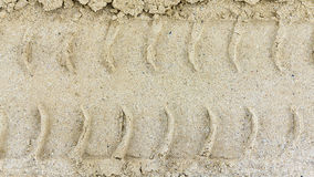 The sand texture Stock Image