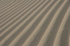 Sand textured background. Natural light Stock Photography