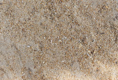 Sand texturerad bakgrund, Royaltyfri Fotografi