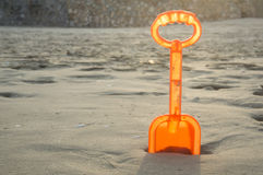 sand tool toy play ground orange color Royalty Free Stock Photos