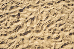 Sand, top view. good background Royalty Free Stock Images