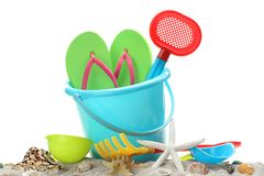 Sand toys Royalty Free Stock Photo