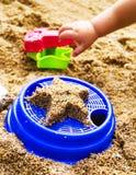 Sand toys Royalty Free Stock Photos