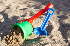 Sand Toys Stock Photos