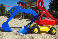 Sand toys Stock Images