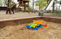 Sand toys Royalty Free Stock Photography