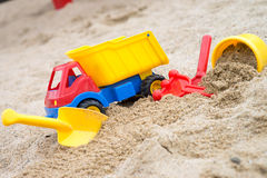 Sand toys Stock Photography
