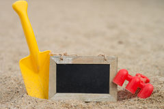 Sand toys Royalty Free Stock Image