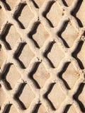 Sand track Stock Photo