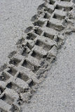 Sand Tracks Royalty Free Stock Photos