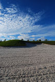 Sand Trap Royalty Free Stock Photography