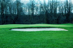 Sand Trap royalty free stock image