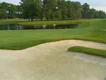 Sand Trap View stock images